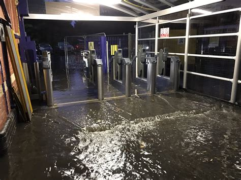 Travel Disruption Following Storm As Weather Warning