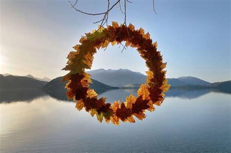 ephemeral environmental sculptures evoke cycles  nature