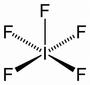 File Iodine-pentafluoride-2d Png