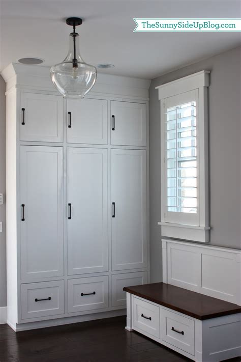 My New Organized Mudroom!  The Sunny Side Up Blog. Decks And Docks. Oak Handrail. Rainshower. Us Leisure. New Classic Furniture. Quality Glass Omaha. Craftsman Columns. Wall Shelves Ideas