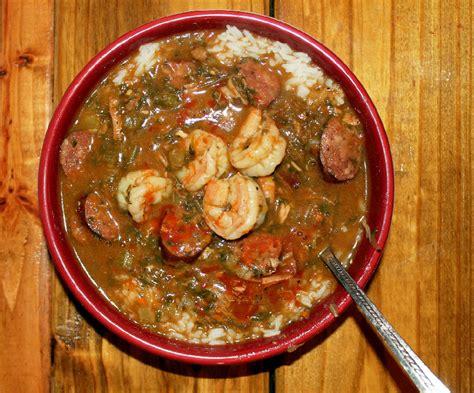 roux cuisine smokey creole gumbo with sauce