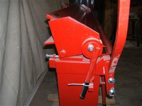 foot  gauge box pan finger sheet metal brake bender