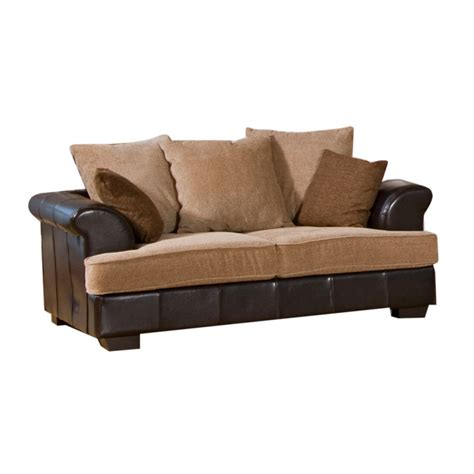 brown leather sofa with fabric cushions desert fabric and leather brown beige sofa suite