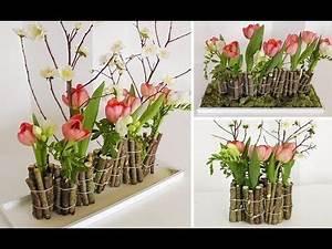 Reagenzgläser Für Blumen : fr hling diy blumen fr hlingsdekoration und blumenarrangement ~ A.2002-acura-tl-radio.info Haus und Dekorationen