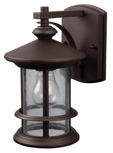 oil rubbed bronze outdoor wall lantern light