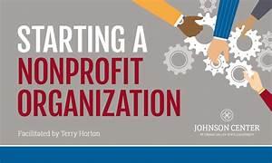 Starting a Nonprofit OrganizationJohnson Center for ...