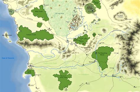 hex map  faerun