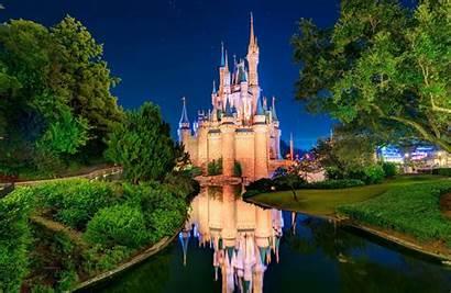 Castle Disneyland Cinderella Sky Orlando Dog River
