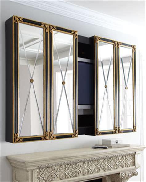 Monogram Mirror by Maitland Smith Plasma Tv Cabinet