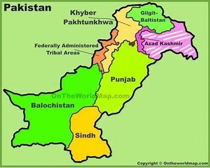Pakistan Map Administrative Divisions Maps Printable India