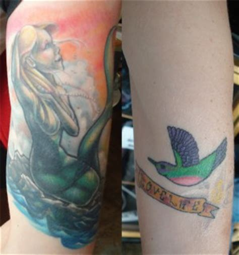 Hummingbird Cover Up Tattoo by Cover Up Of A Humming Bird 171 Sole Tattoo