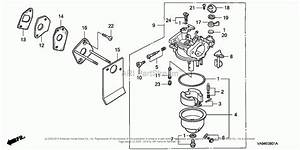 Honda Small Engine Carburetor Diagram