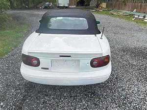 1990 Mazda Miata Convertible White Rwd Manual