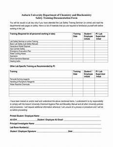 employee documentation form asliaetherairco With employee training documentation form