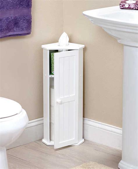 Small White Bathroom Cabinet by White Bathroom Corner Cabinet Toilet Paper Roll Kleenex