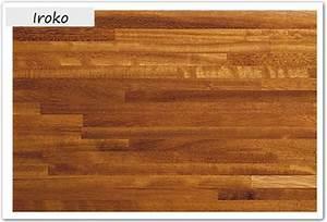 Plan De Travail Bois Pas Cher : iroko plans de travail en bois massif plan de travail ~ Edinachiropracticcenter.com Idées de Décoration