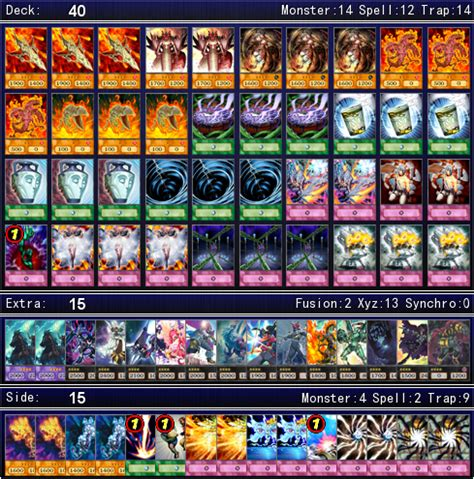 Yugioh Volcanic Deck 2016 by Yu Gi Oh Gx Volcanic Traptrix Deck For Ygopro By