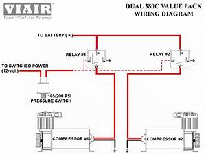 Viair  Dual 380c 200psi Air Compressor Pumps