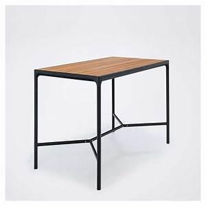 Table Haute Rectangulaire : four table haute jardin houe 160 x 90 en bambou alu ~ Teatrodelosmanantiales.com Idées de Décoration