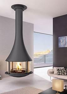 Cheminée Bois Design : 1000 id es sur le th me chemin e suspendue sur pinterest ~ Premium-room.com Idées de Décoration