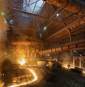 Mmk Magnitogorsk  Blast Furnace No 10 Tapping