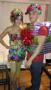 DIY Christmas Present Costumes
