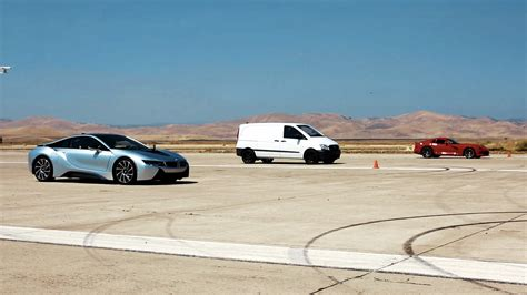 Mercedes Vito Edna by Atieva Ev Prototype Beats Bmw I8 And Dodge Viper In