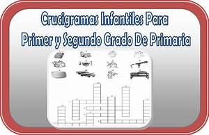 Crucigramas para primer y segundo grado de primaria Educación Primaria