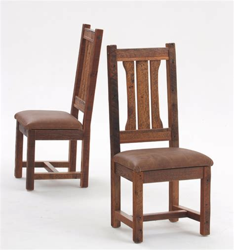 Type Of Chairs For Dining by Rustic Dinette Chair Barnwood Seating Antique Wood Chairs