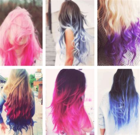 Different Colors Hair by 22 Trendy Ombre Hairstyles For Pretty Designs