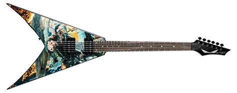 Amazon.com: Dean V Dave Mustaine Guitar, United