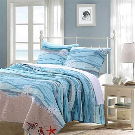coastal seaside beach blue 100 percent cotton bedding