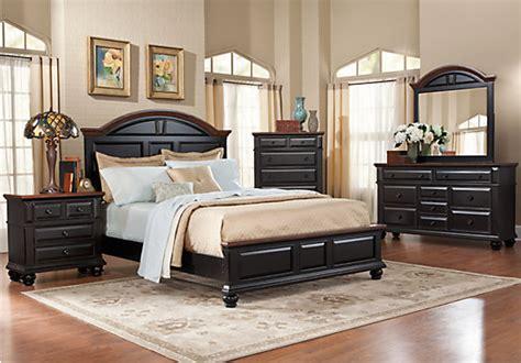 berkshire lake black  pc queen bedroom bedroom sets