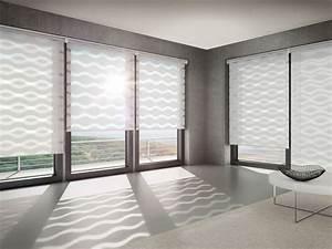 Transparente Gardinen Mit Muster : rollos sonnenschutz textilien baunetz wissen ~ Sanjose-hotels-ca.com Haus und Dekorationen