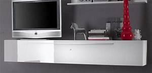 Meuble Tv Suspendu Ikea : meuble suspendu tv fly ~ Melissatoandfro.com Idées de Décoration