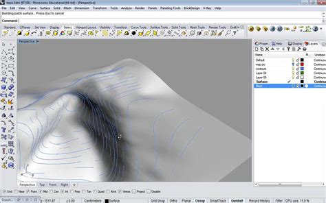 extra rhino topography  contours youtube