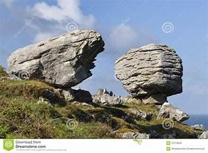 Glacial Erratic Boulders stock photo. Image of glacial ...  Erratic