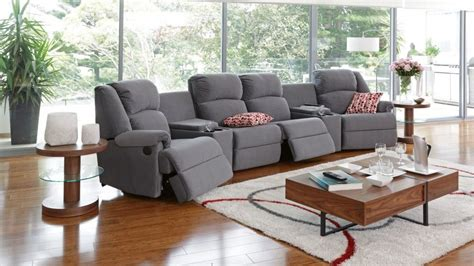 Living Room Sets Perth by Ben 6 Powered Recliner Fabric Lounge Recliner