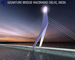 Delhi's iconic Signature Bridge to be ready in 2014 ...