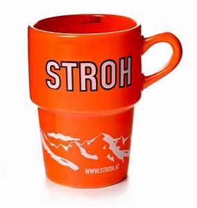 Tasse à Thé Originale : stroh tasse orange originale rum becher 0 25 l ~ Teatrodelosmanantiales.com Idées de Décoration