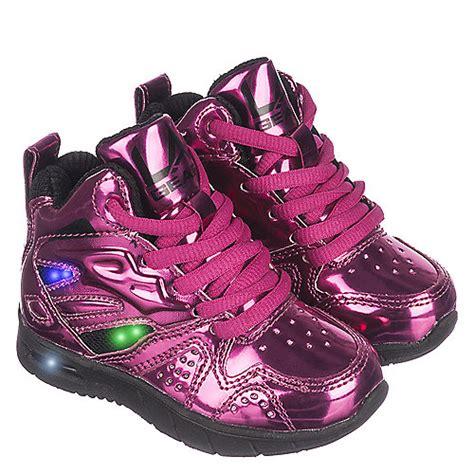 la gear light up shoes la gear l a lights toddler pink sneaker shiekh shoes