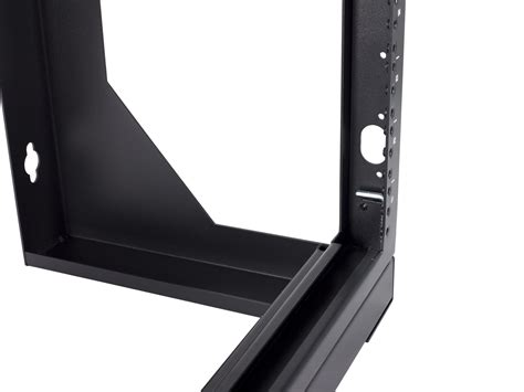 networx  open frame swing  wall mount rack  series  inches deep flat packed