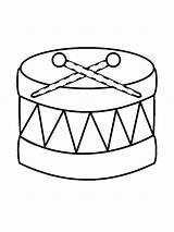 Instruments Musical Coloring Instrument Coloriage Musique Trommel Printable Muziekinstrumenten Kleurplaat Musikinstrumente Kleurplaten Coloriages Fun Imprimer Objets Muziek Easy Drawings Drawing sketch template