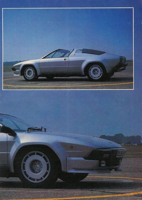Lamborghini Jalpa, Magazine Article