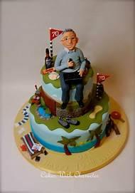 70th Birthday Cake Ideas For Dad