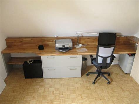 plan de bureau en bois placards coulissants sur mesure dans le 64 laurentin