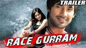 Race Gurram (Kurradu) Hindi Dubbed Movie Official Trailer ...