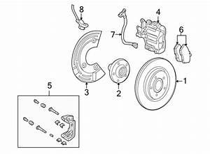 Ford Taurus X Abs Wheel Speed Sensor  Right  Brake