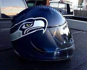 nfl themed motorcycle helmets the of football