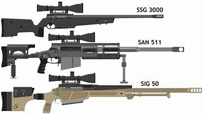 Sniper Rifles Swiss Rifle Sig Sauer Gun